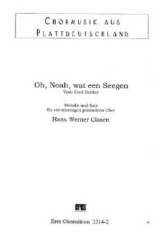 Oh, Noah, wat een Seegen (gemischter Chor)