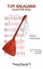 Tum Balalaika (gemischter Chor 3st)