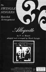 Allegretto (gemischter Chor)