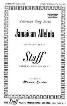 Jamaican Alleluia (gemischter Chor)
