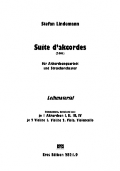 Suite d´akcordes (for hire)