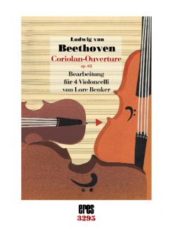 Coriolan-Ouverture ( 4 violoncellos)