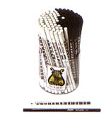 Bleistifte mit Klaviaturmuster