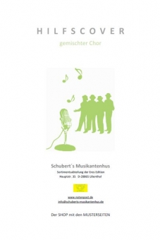 Der Entertainer  Humoresque (Klavierpartitur - gemischter Chor)