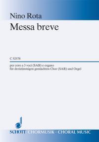 Messa breve (gemischter Chor 3st)