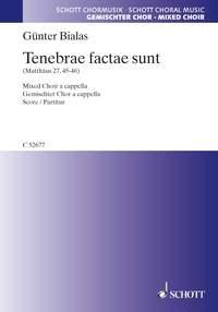 Tenebrae factae sunt (gemischten Chor)