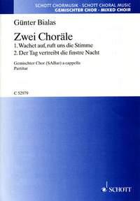 Zwei Choräle (gemischter Chor 3st)