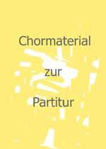 Apfelkantate (Chorpartitur)