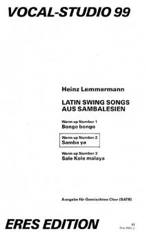 Samba ya (gemischter Chor)