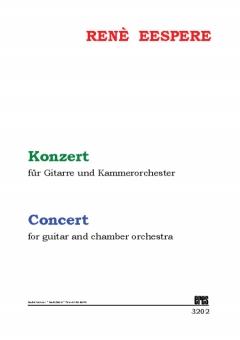 Konzert für Gitarre und Kammerorchester (Studienpart.)