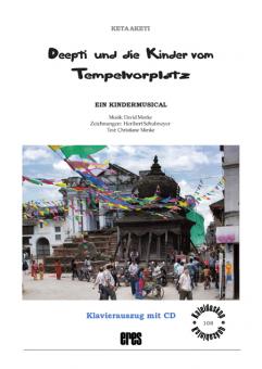 Deepti und die Kinder vom Tempelvorplatz (Kl.A)