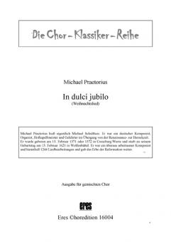 In dulco jubilo (gemischter Chor)