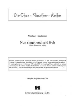 Nun singet und seid froh (gemischter Chor)