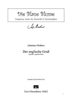 Der englische Gruß (gemischter Chor)