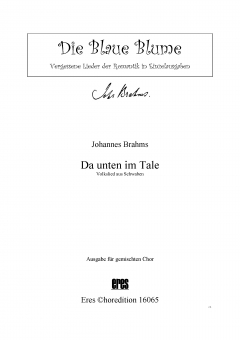 Da unten im Tale (gemischter Chor)