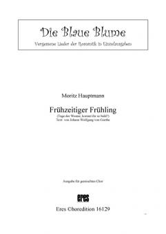 Frühzeitiger Frühling (gemischter Chor)