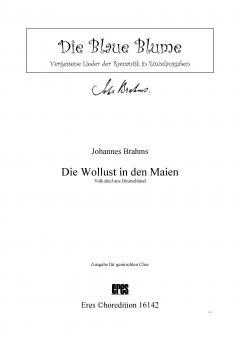 Die Wollust in den Maien (gemischter Chor)