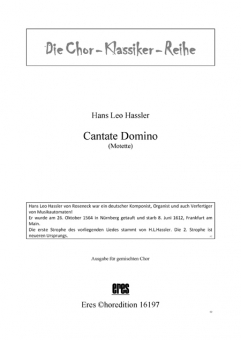 Cantate Domino (gemischter Chor)