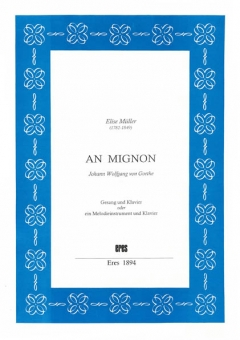 An Mignon (voc. & piano-DOWNLOAD)