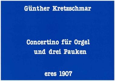Concertino (Orgel, Pauken)