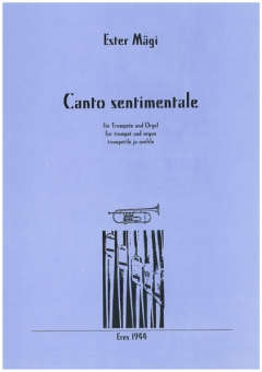 Canto sentimentale (trumpet, organ)