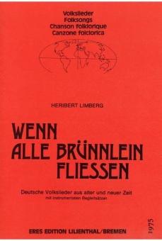 Wenn alle Brünnlein fließen (Streichquartett, Flöte (ad lib.)