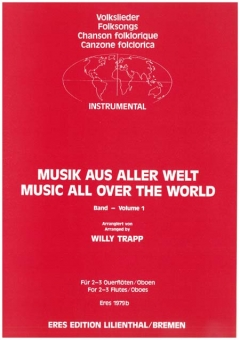 Music from all over the World (2-3 flutes)