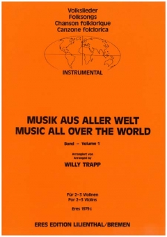 Music From All Over The World. 1 (2-3 Violin)