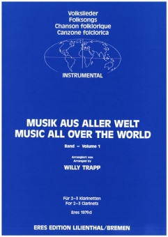 Music From All Over The World 1 (2-3 clarinets)