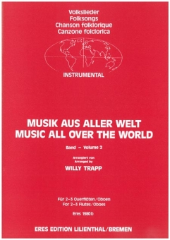 Music from all over the World Vol. 2 (2-3 flutes)