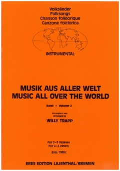 Music From All Over The World. 2 (2-3 Violin)