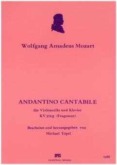 Andantino cantabile (violoncello, piano)