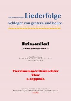 Friesenlied (gemischter Chor)