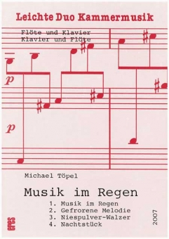 Musik im Regen (Flöte, Klavier)