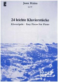 24 (leichte) Klavierstücke...