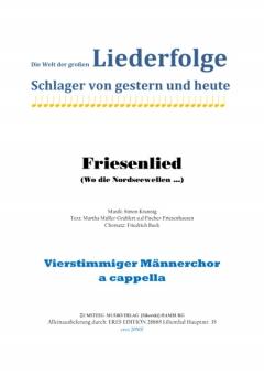 Friesenlied (Männerchor)