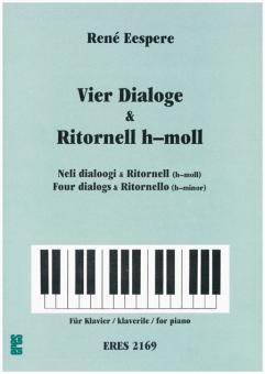 Vier Dialoge & Ritornell (h-moll) (Klavier)