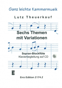 Six Themes with variations (soprano-recorder)