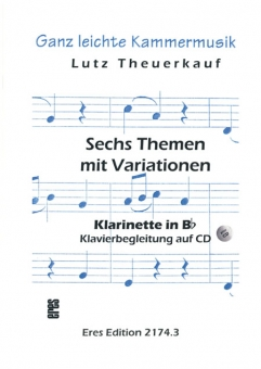 Six Themes and variations (Bb-clarinet)