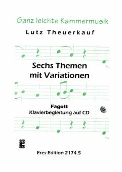 Sechs Themen mit Variationen (Fagott)