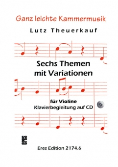 Six themes with variations (violin)