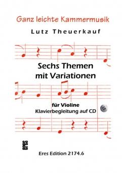 Sechs Themen mit Variationen (Violine)