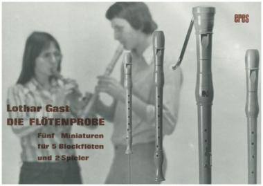 Die Flötenprobe (recorder)