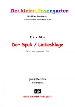 Liebesklage (gemischter Chor)