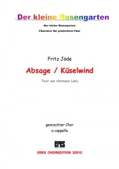 Absage (gemischter Chor)