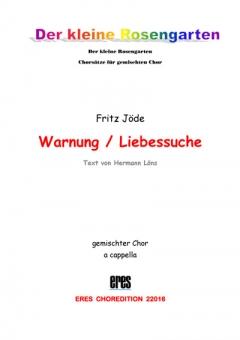 Liebessuche (gemischter Chor)