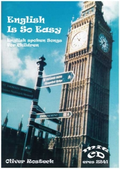 English Is So Easy (Liederbuch mit CD)