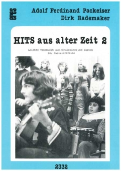 Hits from ancient times 2 (recorder, guitar)