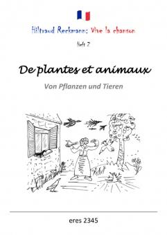 De plantes et animaux (Liederbuch)