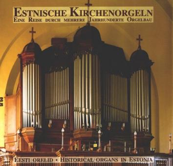 Estnische Kirchenorgeln (Fotoband)
